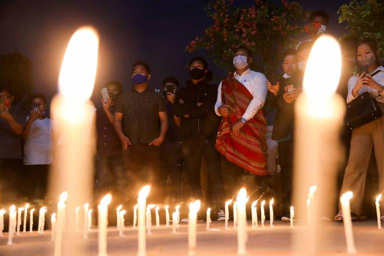 Menina de 7 anos é morta em dia de protestos contra golpe em Mianmar