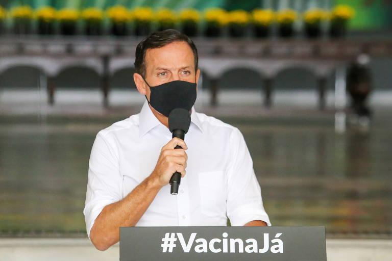O governador de São Paulo, João Doria (PSDB), que assinou manifesto pró-democracia