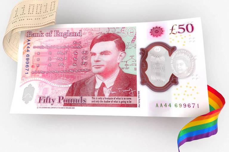 Banco da Inglaterra homenageia pai da computação Alan Turing em nova nota de 50 libras