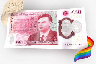 Bank of England unveils new banknote celebrating WW2 code-breaker Turing