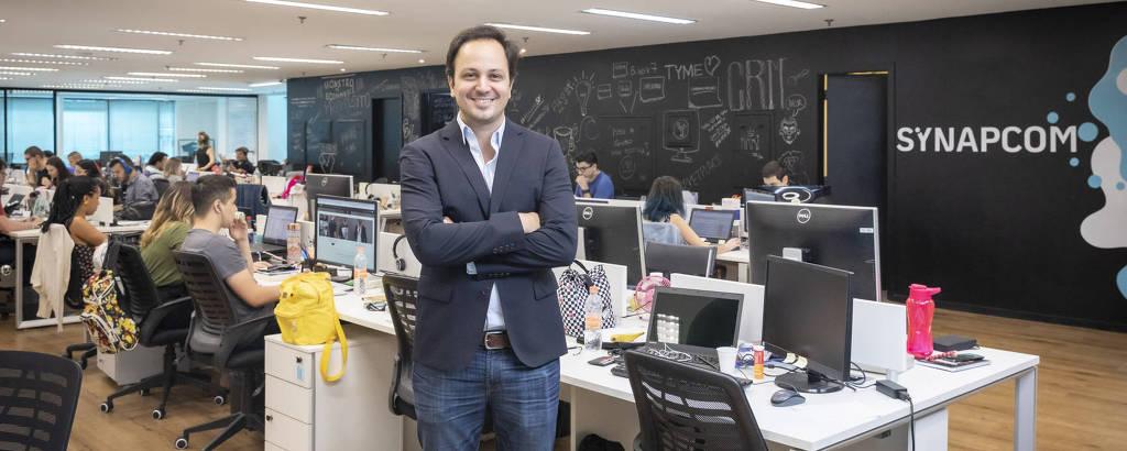 Eduardo Fregonesi, CEO e co-fundador da Synapcom