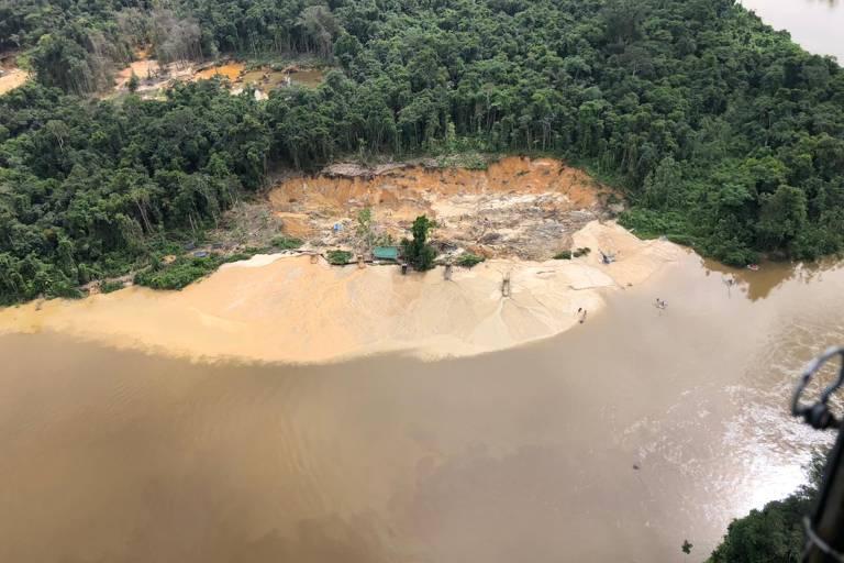 Terra Indígena Yanomami (RR), alvo de operação da Polícia Federal contra garimpo ilegal