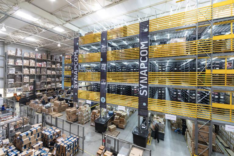 Centro de distribuição da Synapcom