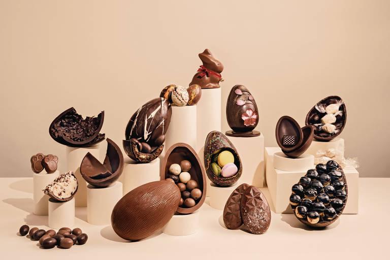 Veja ovos de Páscoa para comprar por delivery em São Paulo
