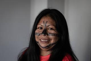 RIO DE JANEIRO, RJ, BRASIL, 13-3-2021, 15h00: Lideranca indigena do medio Solimoes, Alessandra Munduruku foi lancada na luta nos ultimos seis anos, quando viu a degradacao do territorio indigena e a exploracao por grileiros e garimpeiros ilegais tomar con