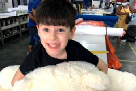 RIO DE JANEIRO, RJ, Henry Borel, de 4 anos, morreu na madrugada de segunda-feira (8), após ser encontrado pela mãe caído em um dos quartos. ( Foto: Reprodução )