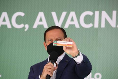 SAO PAULO, SP, 26-3-2021  -  O Instituto Butantan anunciou a criação da Butanvac, nova candidata a vacina contra a Covid-19, e disse que pedirá autorização à Agência Nacional de Vigilância Sanitária (Anvisa) ainda nesta sexta-feira (26) para iniciar os estudos clínicos em voluntários.  ( Foto:Governo do Estado de Sao Paulo )