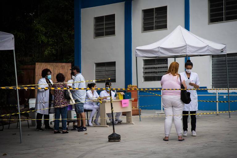 SP muda atendimento na saúde após estudo apontar 64% de contaminados com variante de Manaus