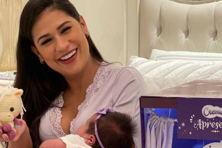 Simone e sua filha, Zaya