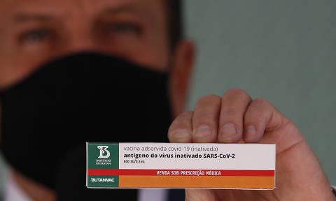 Doria anuncia vacinação de trabalhadores do transporte e pessoas com comorbidades em maio em SP