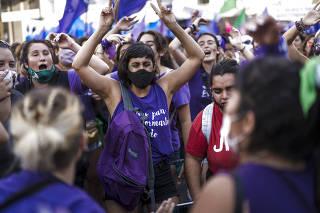 ARGENTINA-BUENOS AIRES-DIA INTERNACIONAL DE LA MUJER
