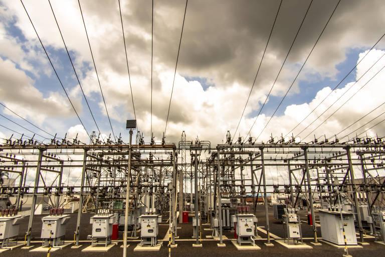 Subestação Itambé de distribuição de energia elétrica da CPFL Paulista (Companhia Paulista de Força e Luz) no município de Marília, região cento-oeste do estado de São Paulo
