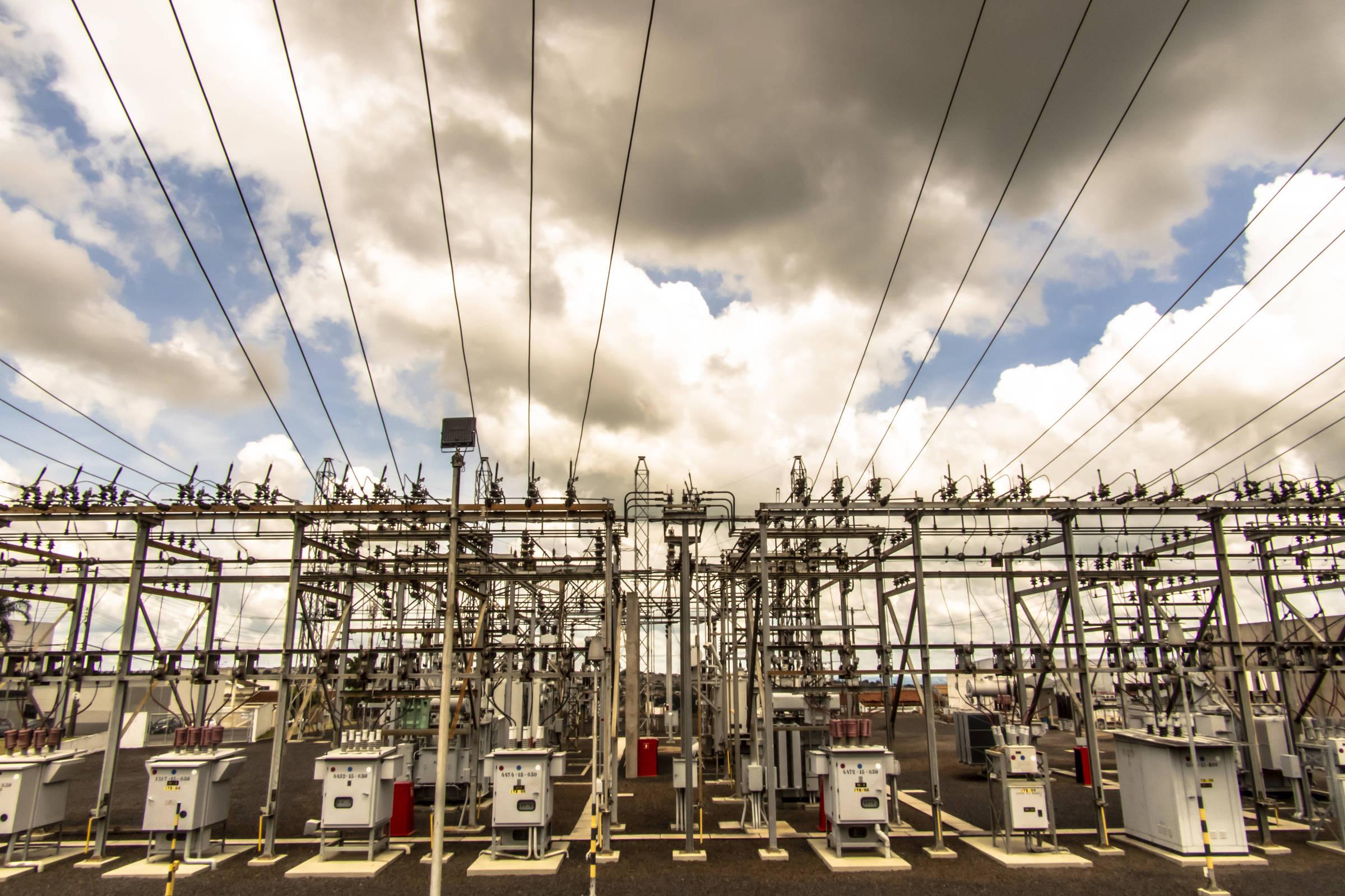 Subestação Itambé (SP) de distribuição de energia elétrica da CPFL Paulista (Companhia Paulista de Força e Luz), no município de Marília, região cento-oeste do estado