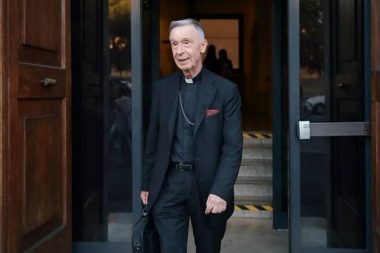 O cardeal e jesuíta espanhol Luis Francisco Ladaria Ferrer