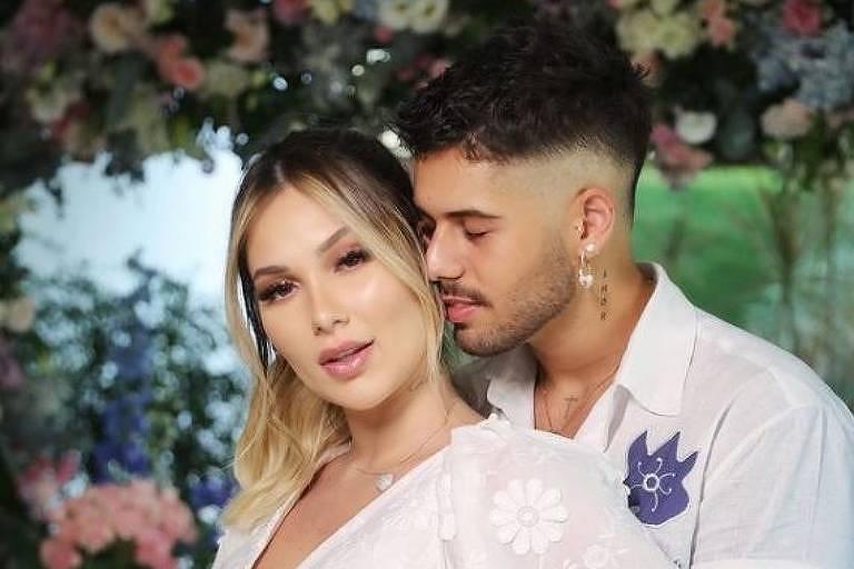 Zé Felipe e Virgínia Fonseca se casam