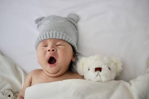 Bebê com sono