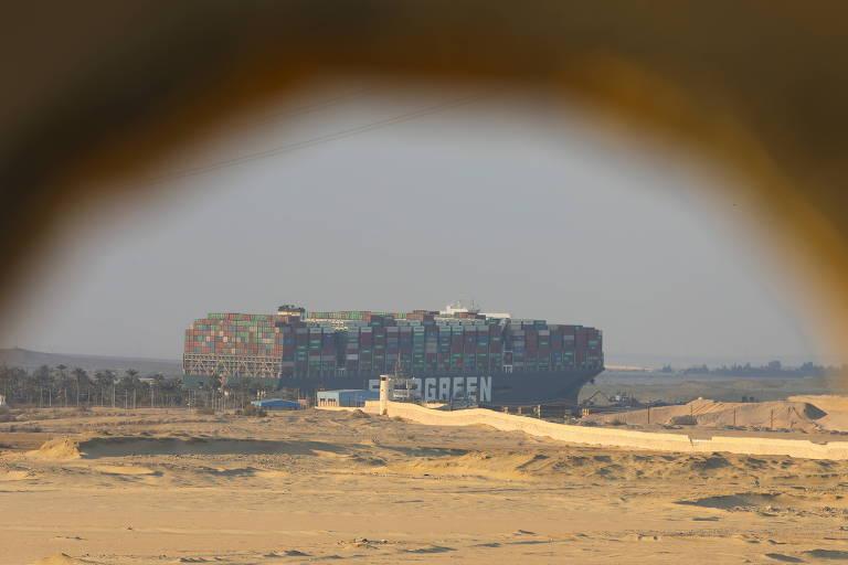 Acidente no Canal de Suez revela perenidade de estruturas arcaicas