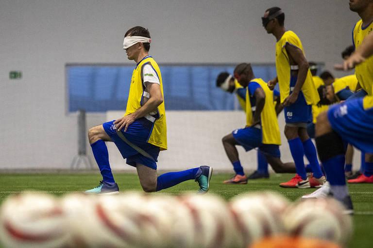 Fenômeno no futebol de 5, Ricardinho revela angústia antes da Paraolimpíada