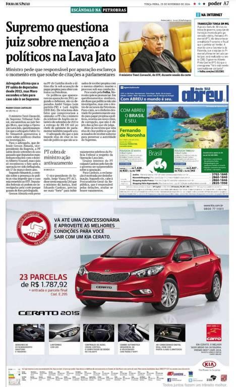 Folha cobriu Lava Jato com olhar crítico