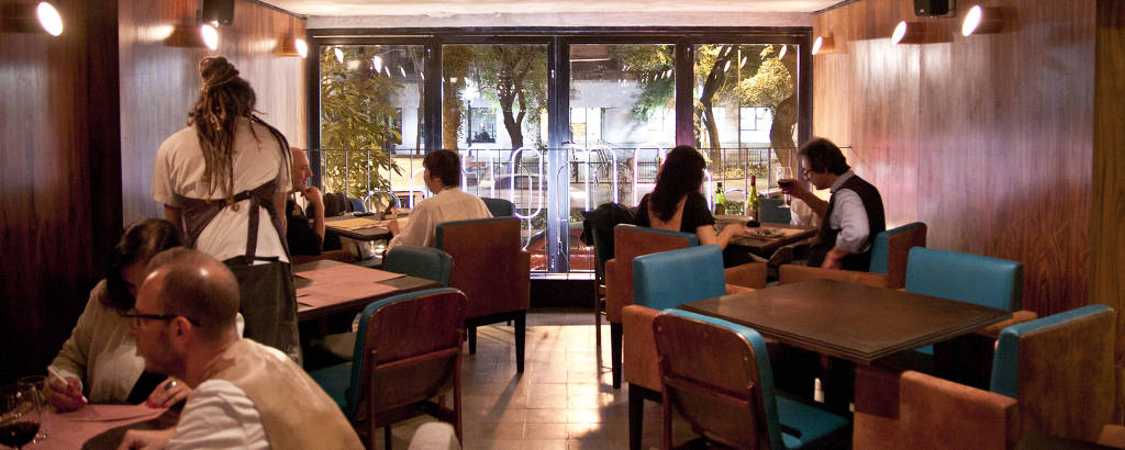 Restaurante Ramona, no centro de São Paulo, que fechou em 2021 por causa da pandemia