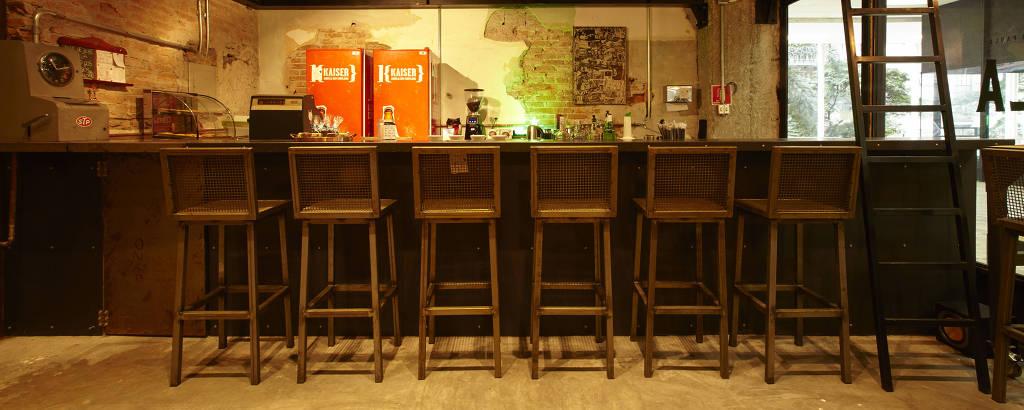 Bar Mandíbula, que ficava localizado na galeria Metrópole, no centro de São Paulo