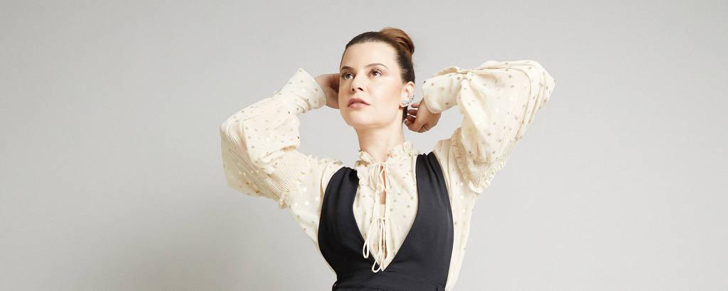 A atriz Nina Frosi