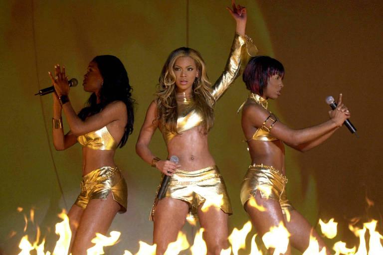 Show do Destiny's Child em Londres, em 2001