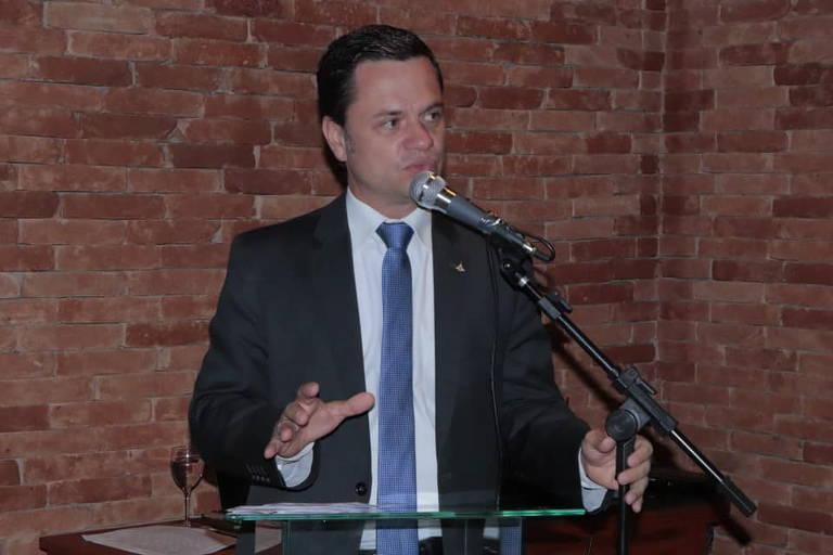 O novo ministro da Justiça, Anderson Torres, delegado da Polícia Federal e ex-secretário da Segurança Pública do Distrito Federal