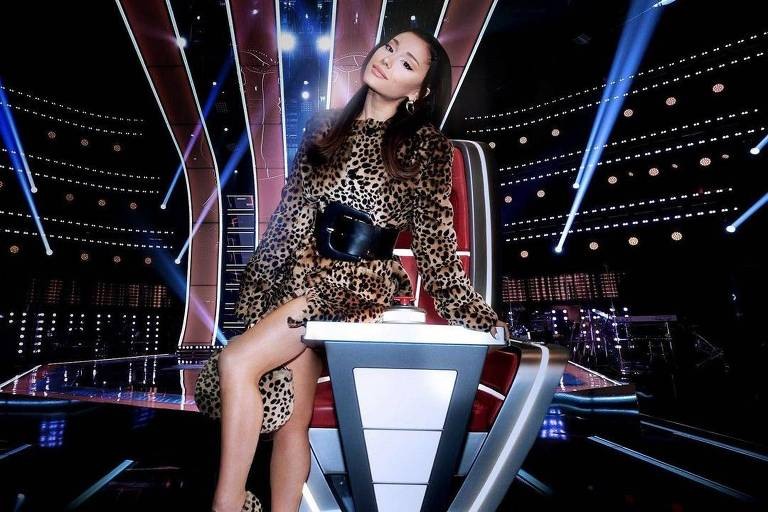 Ariana Grande é a nova técnica do programa The Voice dos Estados Unidos