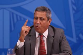 O ministro-chefe da Casa Civil, general Walter Braga Netto