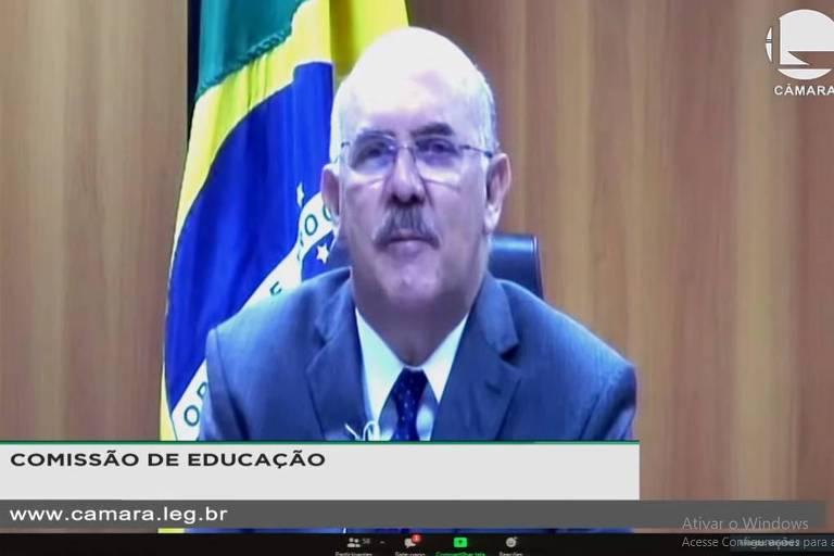 ministro fala por vídeo