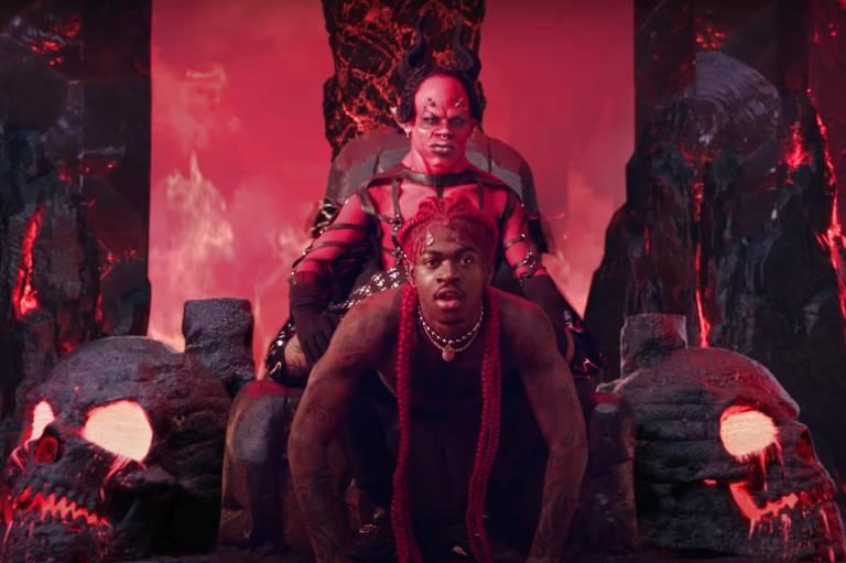 Lil Nas X rebola para o Diabo e celebra LGBTs em clipe de safadezas