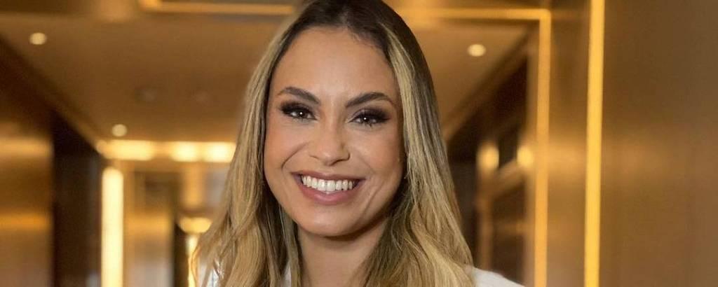 A consultora de marketing Sarah Andrade