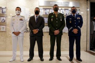 Apresentação dos Comandantes das Forças Armadas
