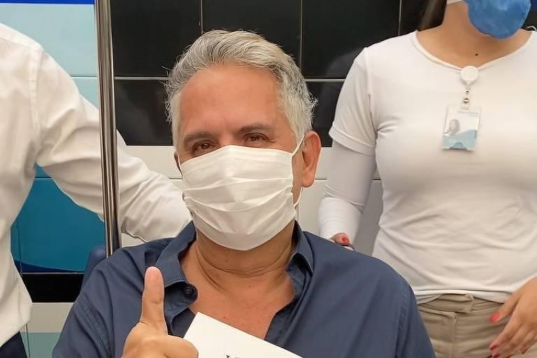 Orlando Morais deixa hospital após vencer Covid-19
