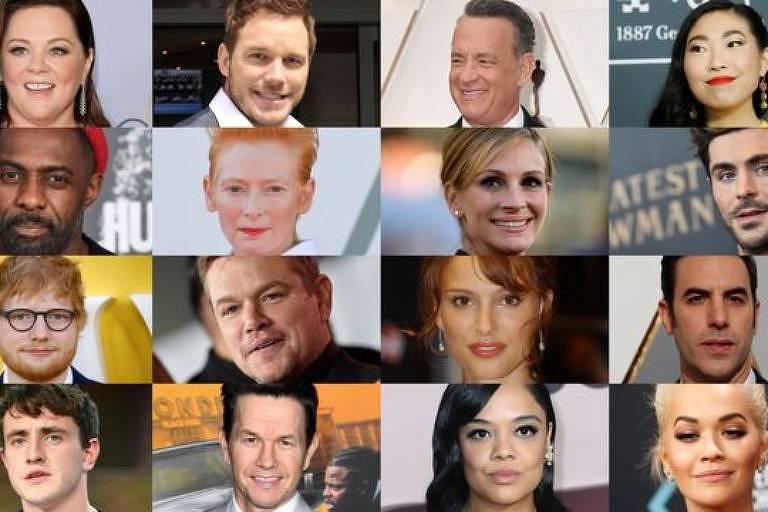 Todas estas celebridades estiveram na Austrália no ano passado