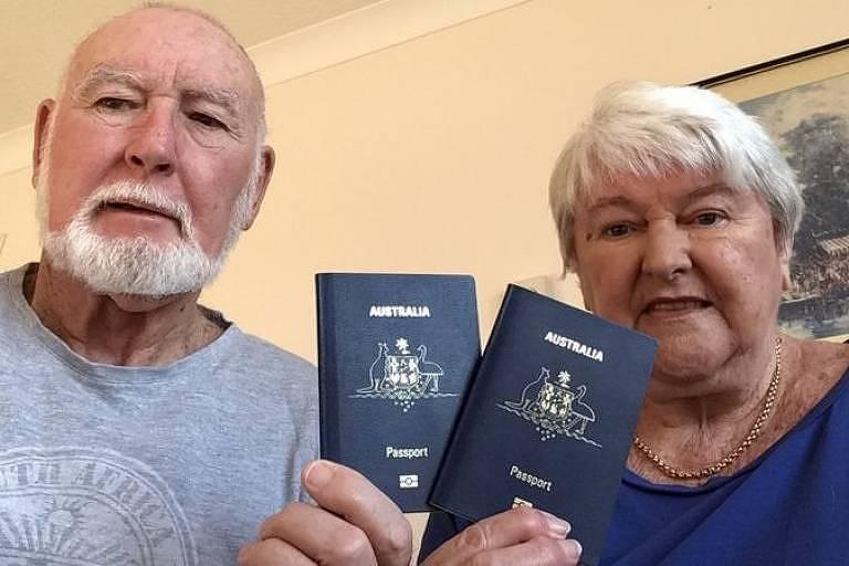John e Margaret Sparks ficaram presos por quase um ano no Reino Unido