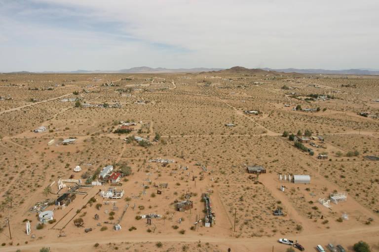 esculturas no deserto