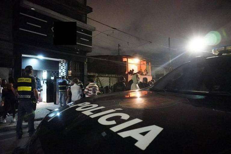 Polícia flagra festa clandestina na zona leste de SP