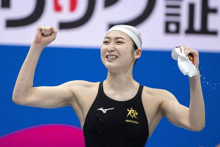 Após tratar leucemia, nadadora japonesa se classifica para a Olimpíada