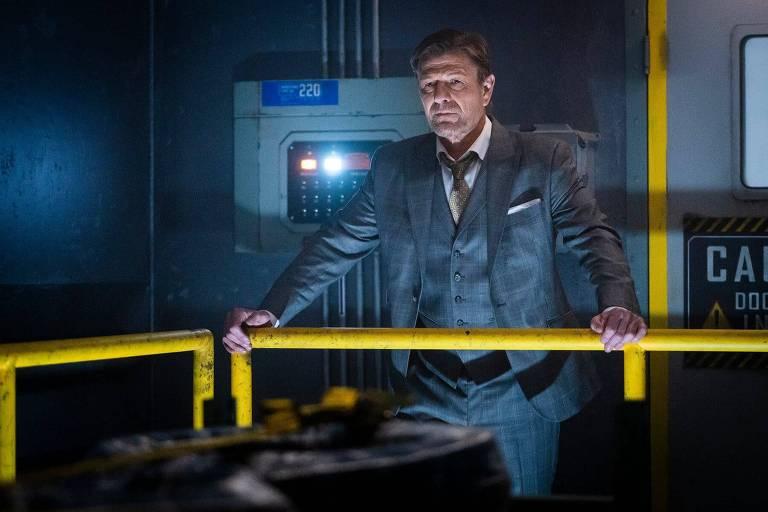 Sean Bean diz que Wilford, de 'Expresso do Amanhã', quer ter 'poder de vida e morte'