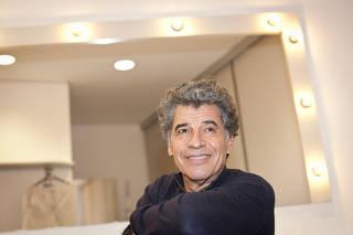 Paulo Betti na estreia da peça