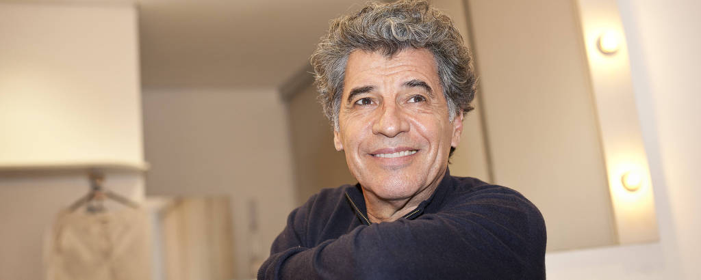 O ator Paulo Betti