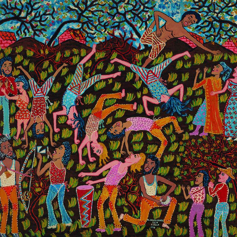 """""""Capoeira"""" (1970) de Maria Auxiliadora"""