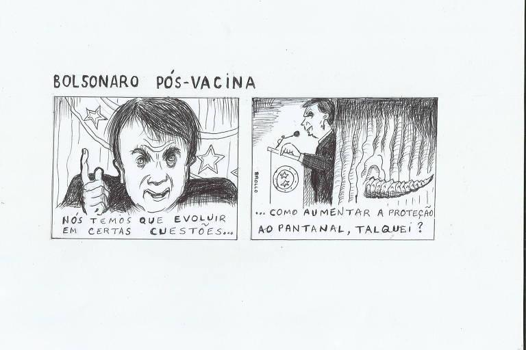 Leitor elogia texto do repórter Felipe Bächtold sobre Bolsonaro