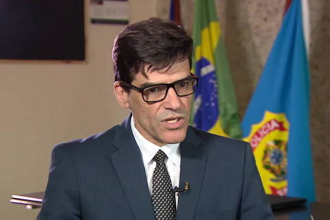 Chefe da PF-AM, Alexandre Saraiva prestou depoimento em inquérito que apura se Bolsonaro interferiu na corporação. Ramagem chegou a ser nomeado diretor-geral da PF em abril, mas STF barrou. (Foto: Reproducao / Tv Globo)