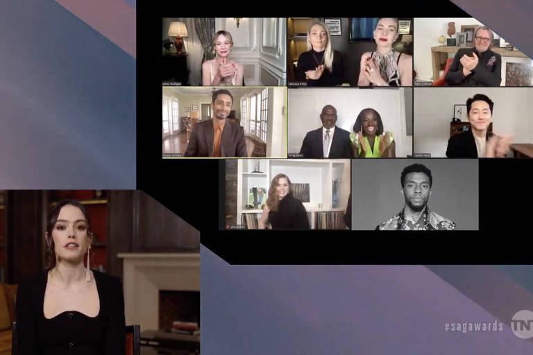 Chadwick Boseman conquista o SAG Awards, uma das prévias do Oscar