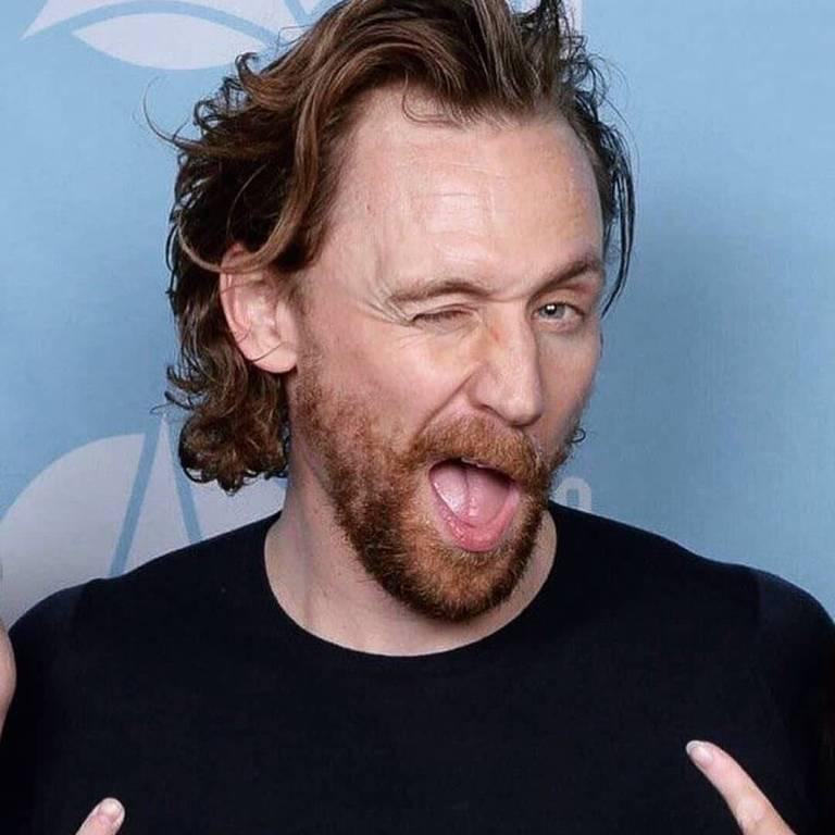 Imagens do ator Tom Hiddleston