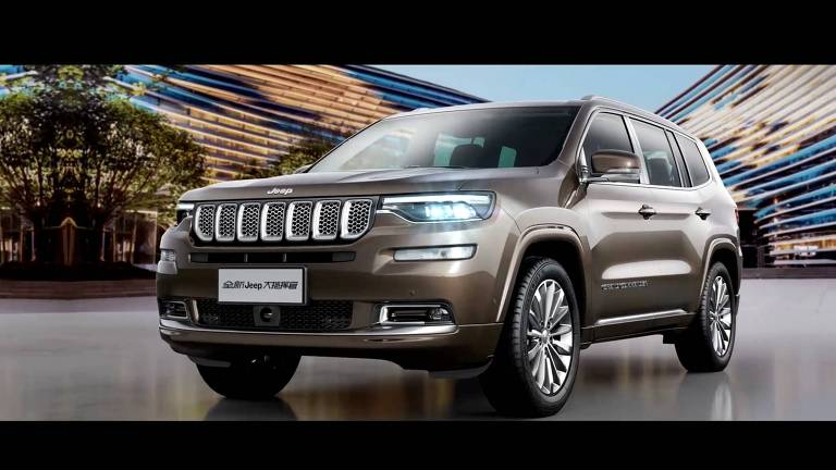 Jeep Commander vendido na China