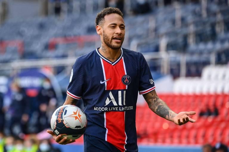 De novo com imagem arranhada, Neymar tenta mostrar força contra o Bayern